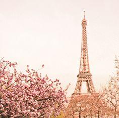 paris in springtime 心裡笑了一笑