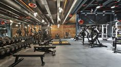 Basement Gym - Tap the pin if you love super heroes too! Cause guess what?, Basement Gym - Tap the pin if you love super heroes too! Cause guess what? Basement Gym: tocca la spilla se ami anche i supereroi! Basement Gym, Garage Gym, Gym Center, Dream Gym, Gym Interior, Interior Design, Design Art, Studios Architecture, Gym Architecture