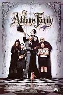 The Addams Family (1991) by Director Barry Sonnenfeld. Stars: Anjelica Huston, Raul Julia, Christopher Lloyd, Christina Ricci. Rating: 6,7