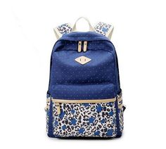 Vogue Star fresh Canvas Women Backpack