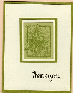 Galleria - Galleria Wing Selection: 2007 - Exhibit: Thank You Card