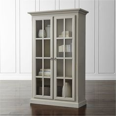 Vitrine Cabinet - Crate and Barrel