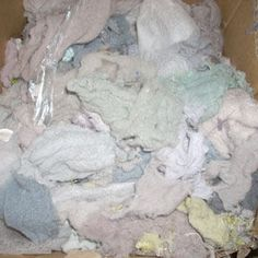 How To Make Paper Out Of Lint....I've Been Saving My Lint For Almost A Year Now.