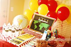 The ULTIMATE Amazing Race Group Party!  AND it includes ALL the printables you'll need to pull it off.  Must pin!!!