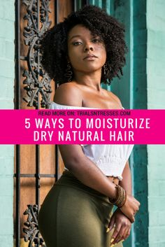 5 ways moisturize dry natural hair