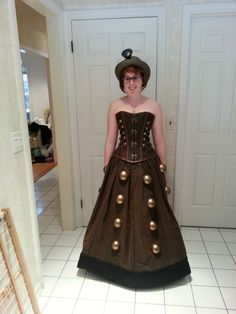 Dalek Costume. OHMYGOSHYES!!!!