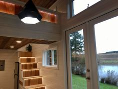 The Tiny Home of Zen: a beautiful modern tiny house with a minimal Zen Modern Tiny House Designs on types of house designs, not so big house designs, tiny concrete house designs,