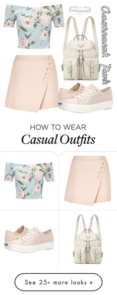 """Amusement Park Casual"" by wonderstruck221b on Polyvore featuring Miss Selfridge, Chloé, Keds, CasualChic and spring2018"