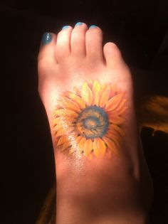 My new sunflower tattoo :)