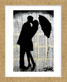 Rainy Day Romantics (Framed)