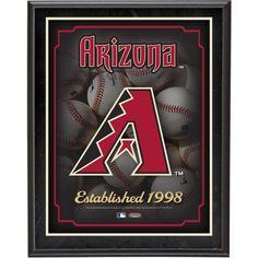 "Arizona Diamondbacks Fanatics Authentic 10.5"" x 13"" Sublimated Plaque - $29.99"