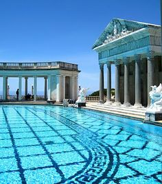 Hearst Castle in San Simeon***Research for possible future project.