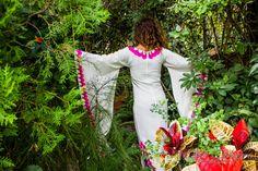 El mas Hermoso E Impresionante Vestido Mexicano por ByCachitoMio