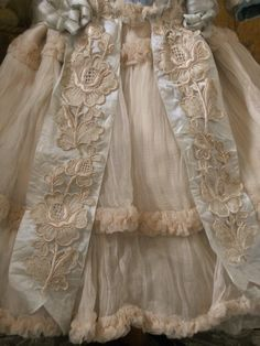 ~~~ Marvelous French Bebe Silk Costume ~~~ from whendreamscometrue on Ruby Lane