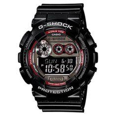 Casio G-Shock Bronze Resin Band Black Dial Men's Watch, GD-120TS-1
