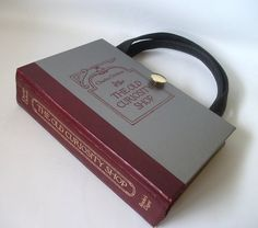 Book Purse Charles Dickens Old Curiosity Shop, Book Bag, Gift for teacher or librarian by retrograndma on Etsy