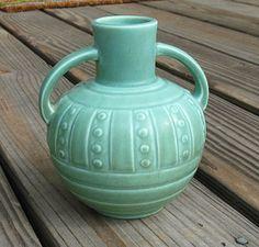 Rookwood pottery vase from 1931. Shape designed by Kataro Shirayamandani.