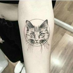 Cat Face Tattoos, Kitten Tattoo, Piercings, Piercing Tattoo, Cat Tattoo Designs, Great Tattoos, Future Tattoos, Get A Tattoo, Tattoo Drawings
