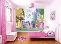 pony wall bedroom makeover murals decor mural scene bedrooms adverts kid ie mlp mylittlepony girlsroom rooms walltastic furniture discover visit