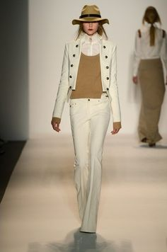 Rachel Zoe. Winter white and cream