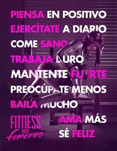 Os presentamos la biblia de Fitness en Femenino. ¿Qué os parece?  Esto, a misa! :)