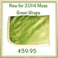 New instore Moss Green baby wraps #babyblanket #babygifts #baby2014 #babyshower #australianmade #ethicallymade http://www.fourzero.com.au/store/pc/Blanket-Wrap-7p55.htm  $39.95