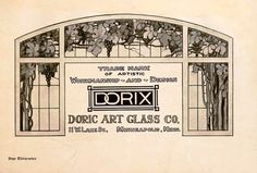 from the booklet 'The Plan Shop Bungalow' 1920 - an ad for Stained Glass. Beautiful!