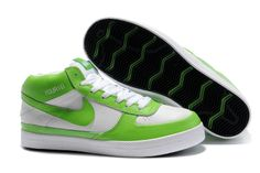 premium selection 71b9a e2615 Nike Blazer Sb HOMME Vert Blanc NBS10