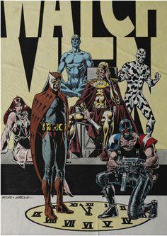 Watchmen Character Designs
