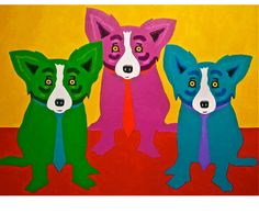 George Rodrigue The Dukes of Dixieland painting for sale online outlet, painting