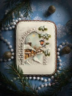 Mezesmanna: Snow / Winter scene ♡