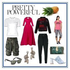 """""""Pretty Powerful..."""" by cate-jennifer ❤ liked on Polyvore featuring Faith Connexion, Carolina Herrera, Thom Browne, Lala Berlin, adidas Originals, Under Armour, Brooks Brothers, Lulu Frost, Polly Plume and Dolce&Gabbana"""
