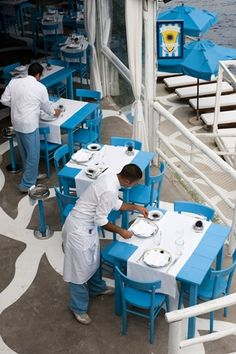 Il Riccio Restaurant & Beach Club, Anacapri, Italy