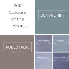 cil paints 2017 in antique violet and soothing colours Paint Colours 2017, Wall Colors, House Colors, Interior Paint Colors For Living Room, Paint Colors For Home, Bedroom Color Schemes, Colour Schemes, Color Combinations, Cil Paint