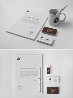 Editor's note: For a newer, updated version of this post, check it out here. We previously featured creative envelope designs to showcase how companies can extend their branding efforts to print. The examples in this post however, encompasses a larger scope. These are identity designs for the purpose