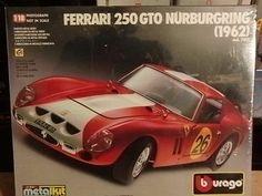 Bburago 1/18 Bausatz Kit Neu / OVP Ferrari GTO Nürburgring 1962 Sammlung Sammlun | eBay