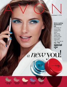 Avon 'A New You' Campaigns 1 & 2 eBrochure Online   AVON   http://carriekelley.avonrepresentative.com #avon #avonrep #avonoutlet #campaign2 #anewyou #sale