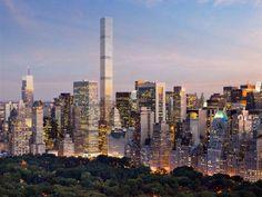 Imagem do edifício 432 Park Avenue, maior arranha-céu residencial de Nova York