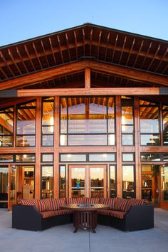 riverway clubhouse - Google Search Once In A Lifetime, British Columbia, Wedding Events, Cabin, Mansions, House Styles, City, Outdoor Decor, Beautiful