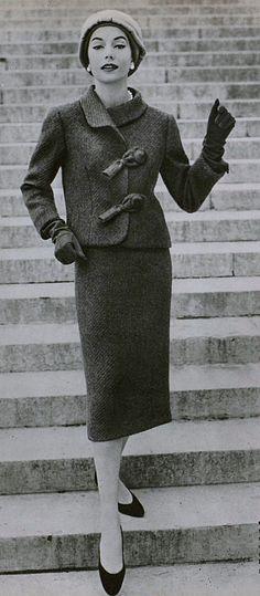 Hubert De Givenchy Sack Dress 1957 1950 1959