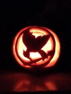 Hunger Games Pumpkin Carving Ideas / Hunger Games Fan Art