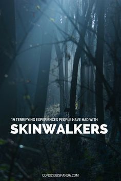 19 Terrifying Experiences People Have Had With Skinwalkers