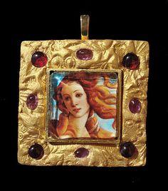 Boticelli's Venus Goddess of Love Pendant by ArtsofAvalonJewelry, $55.00