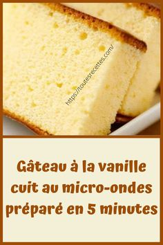 Dessert Micro Onde, Cornbread, Vanilla Cake, Food And Drink, Lunch, Dinner, Ethnic Recipes, Easy Biscuit Recipe, Cooking Recipes