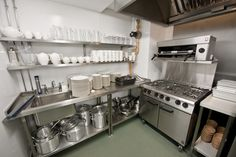 small restaurant kitchen design - Buscar con Google