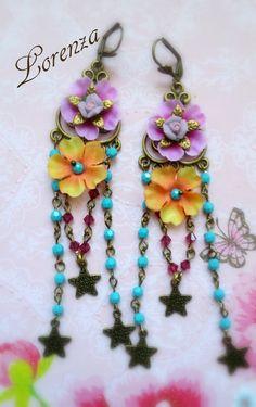 Voici ce que je viens d'ajouter dans ma boutique #etsy: Boucles bohême shabby romantiques et turquoise #shabby #fleurs #retro #vintage https://etsy.me/2rR77Qd