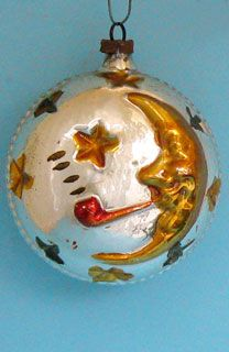 Glass Christmas Ornaments Heavenly Bodies