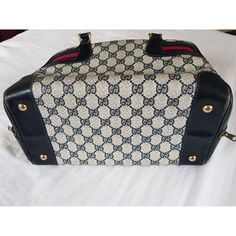 Patent leather handbag Gucci Blue in Patent leather - 5235894 Patent Leather Handbags, Gucci Handbags, Gucci Travel Bag, Vintage Gucci, Blue Fashion, Luxury Consignment, Louis Vuitton Damier, Purses, Stuff To Buy