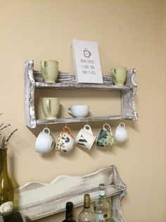 Coffee Cup Display Shelves
