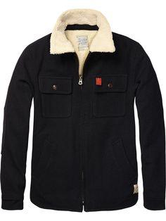 Lumberjacket With Teddy Lining > Mens Clothing > Jackets at Scotch & Soda